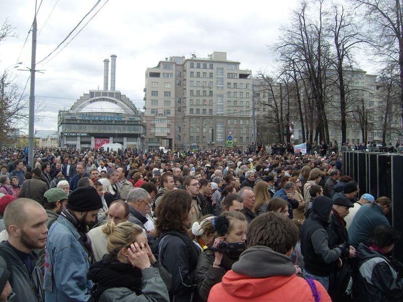 Москва, Болотная площадь, 6 мая 2013 года
